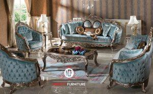 living room set mewah elegant eropean style