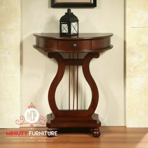 meja konsul klasik kayu terbaru