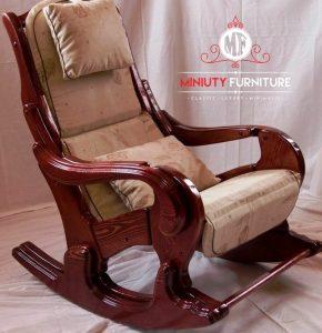 model kursi goyang kayu jati terbaru
