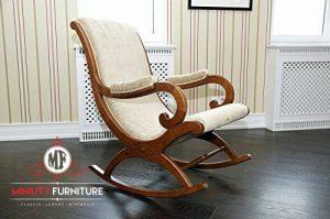 model kursi goyang kayu terbaru