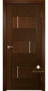 model pintu kantor minimalis modern kayu