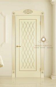 model pintu rumah mewah modern putih model terbaru