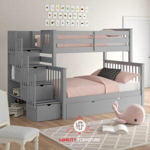 model tempat tidur anak tingkat minimalis terbaru