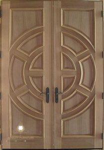 pintu rumah kupu tarung model terbaru kayu jepara