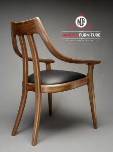 desain model kursi makan lengkung terbaru