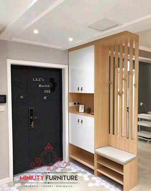 Model Partisi Dan Lemari Penyekat Ruangan Miniuty Furniture