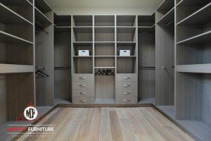 wardrobe minimalis tanpa pintu model terbaru