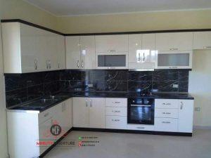 kitchen putih minimalis modern hpl