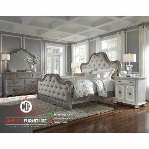 model kamar set classic kayu modern terbaru