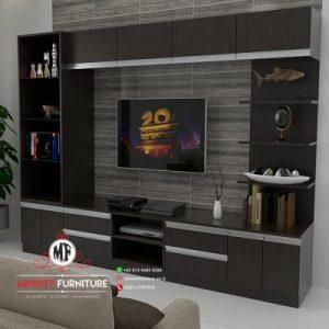 partisi tv minimalis multiplek hpl modern