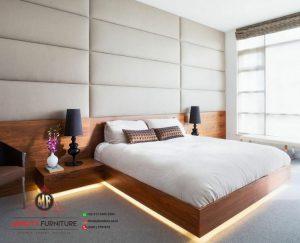 design tempat tidur minimalis modern multiplek hpl