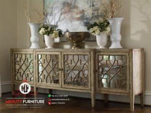 bifet antik kayu jati ruang keluarga bifet model klasik modern