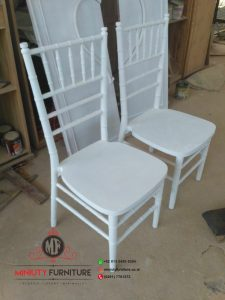 design kursi cafe kursi restoran tifani duco putih