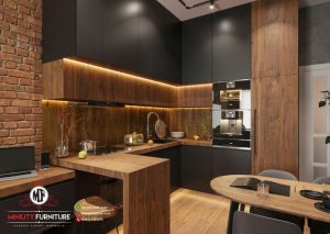design kitchen set minimalis elegant hpl terbaru