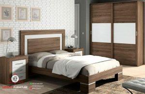 design set kamar tidur minimalis modern HPL